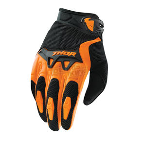 Thor Youth Orange Spectrum Gloves - 3332-0909