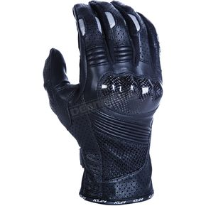 Klim Black Induction Gloves w/Short Gauntlets - 5028-000-120-000