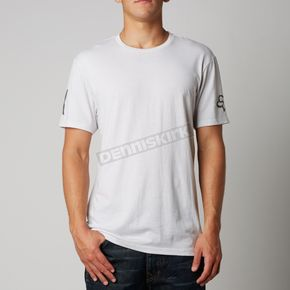 Fox Heather Chalk Blurred Premium T-Shirt - 10680-173-S