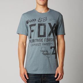 Fox Heather Slate Filibuster Premium T-Shirt - 10682-163-2X