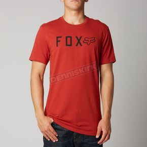Fox Tibetan Red Shockbolt Premium T-Shirt - 10813-581-S