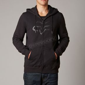 Fox Black Tract Komp Fleece Zip Hoody - 10524-001-S