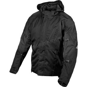 Speed and Strength Black/Charcoal Urge Overkill Textile Jacket - 87-7433