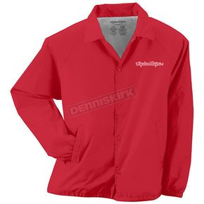 Troy Lee Designs Red Logo Windbreaker - 3106-0410