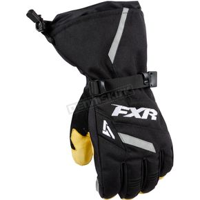 FXR Racing Black Backshift Gloves - 15608.10019