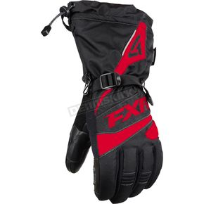 FXR Racing Black/Red Fuel Gloves - 15606.50119