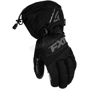 FXR Racing Black/Charcoal Fuel Gloves - 15606.10007