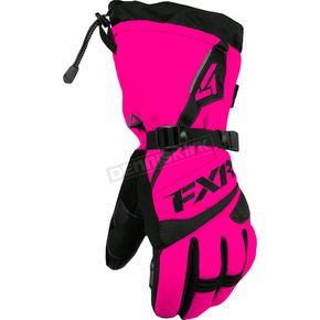 FXR Racing Womens Fuchsia Fusion Gloves - 15614.90013