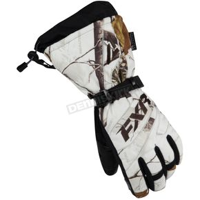 FXR Racing Womens Realtree APHD Snow Fusion Gloves - 15614.03310