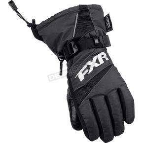 FXR Racing Youth Black Helix Race Gloves - 15620.10007