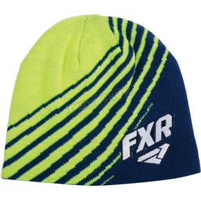 FXR Racing Navy/Hi Vis Shorty Beanie - 15703.40700
