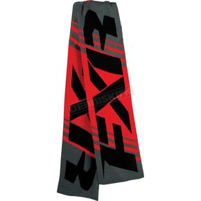 FXR Racing Charcoal/Red Scarf - 15704.20500