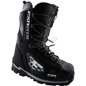 FXR Racing Black Elevation Lite SL Boots - 15505.10007