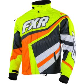 FXR Racing Hi Vis/Orange Cold Cross Jacket - 15116.70019