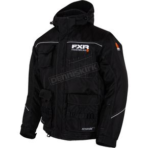 FXR Racing Black Hardwear Jacket - 15118.10007
