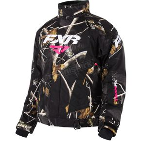 FXR Racing Womens AP Black Camo Team Jacket - 15200.13304