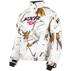 FXR Racing Womens AP HD Snow Camo Team Jacket - 15200.03312