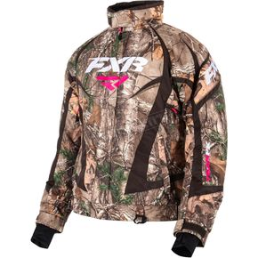 FXR Racing Womens Realtree Xtra Camo Team Jacket - 15200.33316