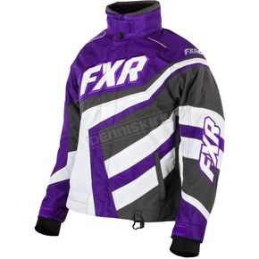 FXR Racing Womens Purple Cold Cross Jacket - 15204.80004