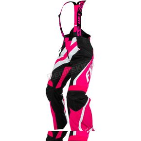 FXR Racing Womens Black/Fuchsia XSystem Pants - 15253.90110
