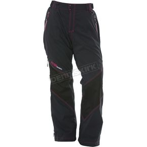 Divas Snowgear Womens Black Avid Technical Pants  - 67575