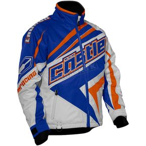 Castle X Blue/Dark Orange Launch SE G2 Jacket - 70-9064