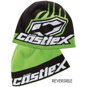 Castle X Green Flip-It Beanie - 98-3141