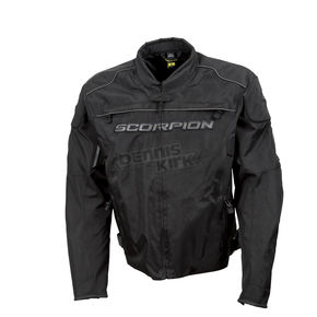 Scorpion Black Battalion Jacket  - 12303-8