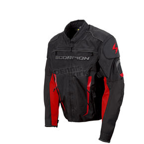 Scorpion Black/Red Battalion Jacket  - 12324-6