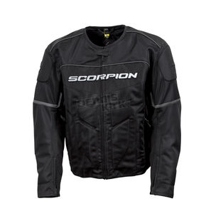 Scorpion Black Eddy Jacket - 12403-5