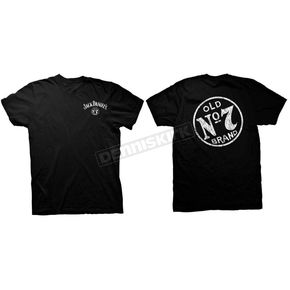 Jack Daniels Black Old No. 7 T-Shirt - 33261403JD-89-M