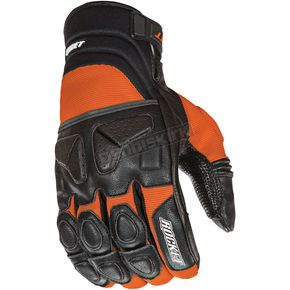 Joe Rocket Black/Orange Atomic X Gloves - 1346-2505