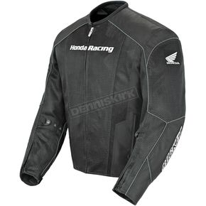 Joe Rocket Black Honda Racing CBR Mesh Textile Jacket - 1372-3002
