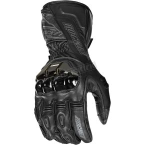 Joe Rocket Black Flexium TX Leather Gloves - 1440-2007