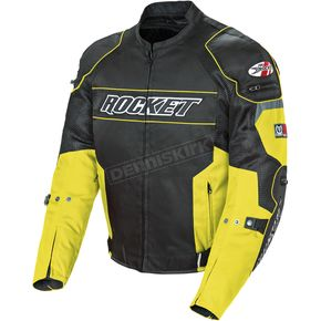 Joe Rocket Black/Yellow Resistor Mesh Jacket - 1460-1404