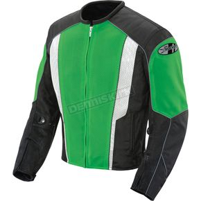 Joe Rocket Green/Black Phoenix 5.0 Mesh Jacket - 851-4415