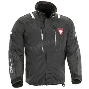 HJC Black/White/Red Extreme Platinum Snowmobile Jacket  - 1403-064