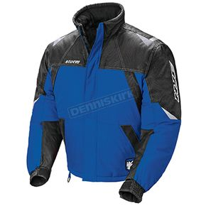 HJC Blue/Black/Silver Storm Snowmobile Jacket  - 1405-022