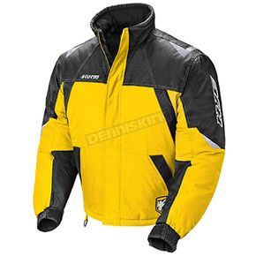 HJC Yellow/Black/Silver Storm Snowmobile Jacket  - 1405-032