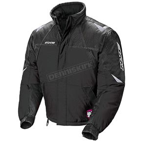 HJC Womens Black/Silver Storm Snowmobile Jacket  - 1407-065
