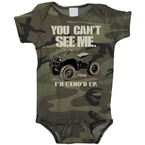Smooth Industries Infant Camo Cant See me One Piece Romper - 1635-101