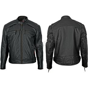 Milwaukee Motorcycle Clothing Co. Black Scooter Jacket - M5254XXXL