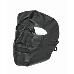 Milwaukee Motorcycle Clothing Co. Black Leather Face Mask - 271