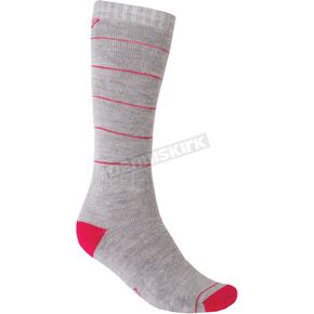 Klim Womens Gray Hibernate Socks - 4078-000-120-600