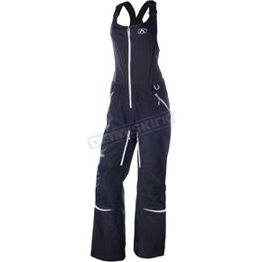 Klim Women's Black Alpine Bibs - 4089-001-160-000