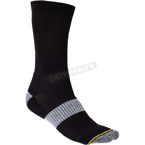 Klim Black Crew Sock - 6001-001-120-000