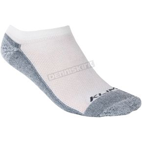 Klim White No Show Socks - 6002-001-130-800