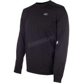 Klim Black Summit Tech Team Long Sleeve  T-Shirt - 6111-002-120-000