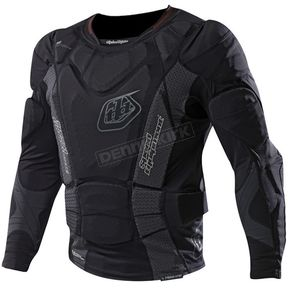 Troy Lee Designs Black 7855 Hot Weather Long Sleeve Shirt  - 510003207