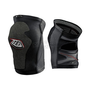 Troy Lee Designs Black 5400 Short Knee Guards - 527003202